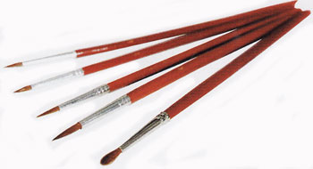 Red Sable Brushes