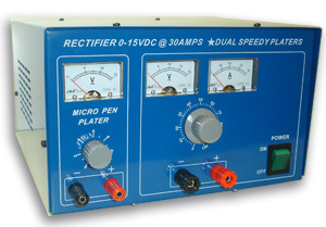 Rectifier 30A with Micro Pen Plater